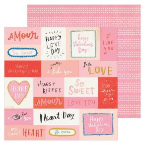 PROMO de -30% sur Papier imprimé LIKE YOU La La Love American Crafts