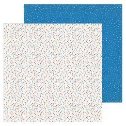 PROMO de -30% sur Papier imprimé BOUQUET La La Love American Crafts