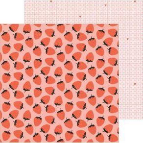 Papier imprimé BERRY SWEET La La Love par American Crafts. Scrapbooking et loisirs créatifs. Livraison rapide et cadeau dans ...