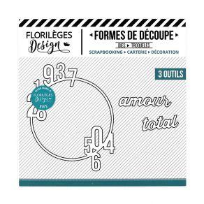 Commandez Outil de découpe AMOUR TOTAL Florilèges Design. Livraison rapide et cadeau dans chaque commande.