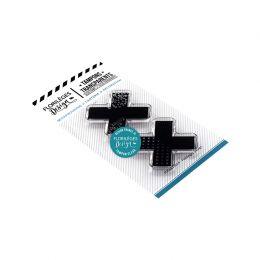 Tampons clear CROIX par Florilèges Design. Scrapbooking et loisirs créatifs. Livraison rapide et cadeau dans chaque commande.