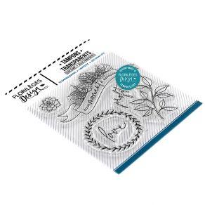 PROMO de -40% sur Tampons clear GREEN ATTITUDE Florilèges Design