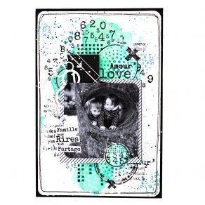 Tampon bois TEXTURES CERCLES par Florilèges Design. Scrapbooking et loisirs créatifs. Livraison rapide et cadeau dans chaque ...