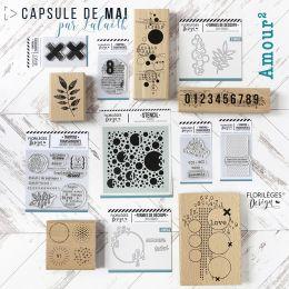 Pack complet Capsule de Mai 2019 par Florilèges Design. Scrapbooking et loisirs créatifs. Livraison rapide et cadeau dans cha...