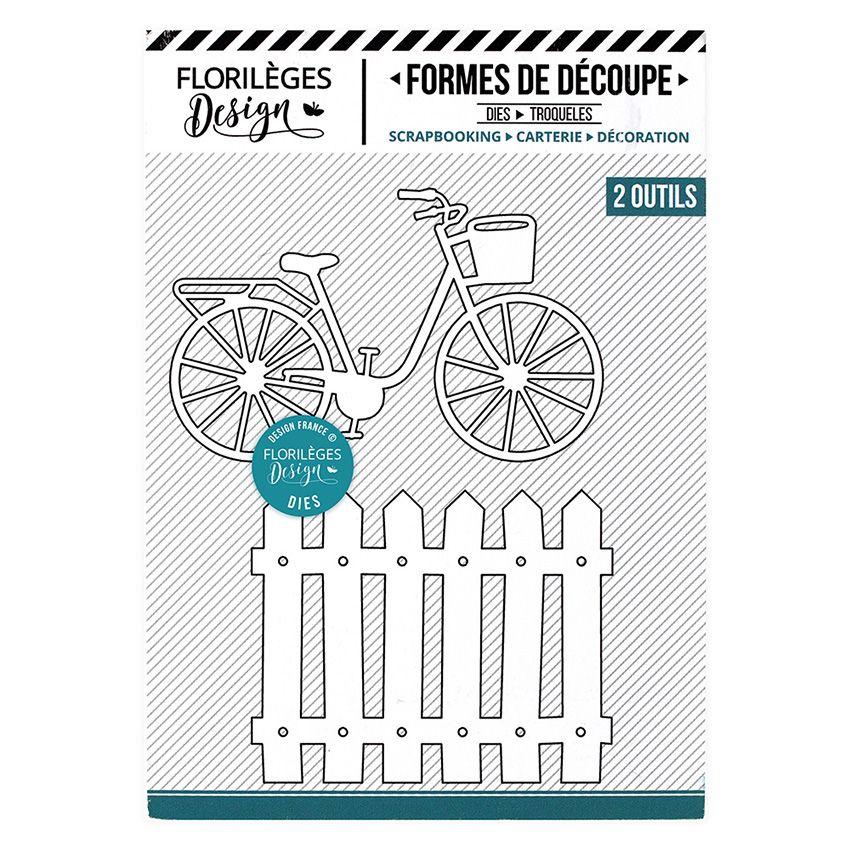 Outils de découpe À VÉLO par Florilèges Design. Scrapbooking et loisirs créatifs. Livraison rapide et cadeau dans chaque comm...