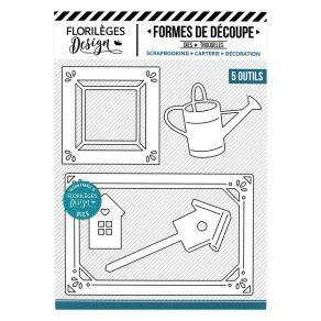 Outils de découpe CADRES CAMPAGNE par Florilèges Design. Scrapbooking et loisirs créatifs. Livraison rapide et cadeau dans ch...