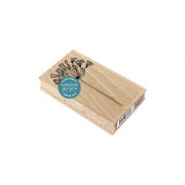 Tampon bois AGAPANTHE par Florilèges Design. Scrapbooking et loisirs créatifs. Livraison rapide et cadeau dans chaque commande.