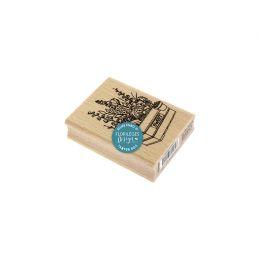 Tampon bois CAISSE DE FLEURS