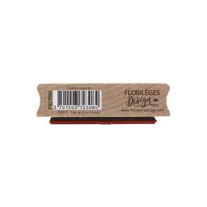 Tampon bois FENÊTRE OUVERTE par Florilèges Design. Scrapbooking et loisirs créatifs. Livraison rapide et cadeau dans chaque c...