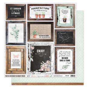 Parfait pour créer : Papier imprimé LA MAISON DE JEANNE 7 par Florilèges Design. Livraison rapide et cadeau dans chaque comma...