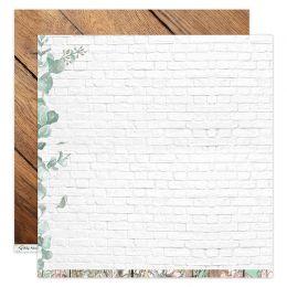 Papier imprimé LA MAISON DE JEANNE 8 par Florilèges Design. Scrapbooking et loisirs créatifs. Livraison rapide et cadeau dans...