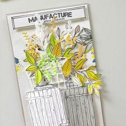 Outils de découpe POTS RUSTIQUES par Florilèges Design. Scrapbooking et loisirs créatifs. Livraison rapide et cadeau dans cha...