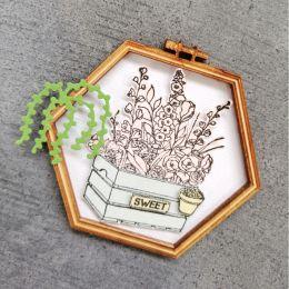 Outils de découpe PLANTES EN POTS par Florilèges Design. Scrapbooking et loisirs créatifs. Livraison rapide et cadeau dans ch...