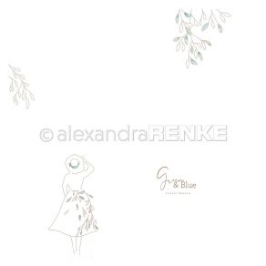 PROMO de -50% sur Papier imprimé FEMME Alexandra Renke