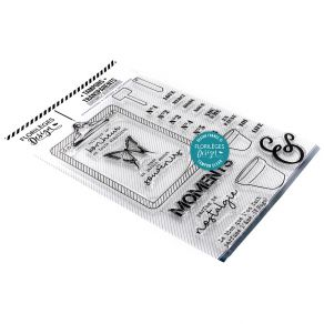 Parfait pour créer : Tampons clear JARDIN DE SOUVENIRS par Florilèges Design. Livraison rapide et cadeau dans chaque commande.