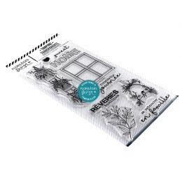 Tampons clear RÊVERIES par Florilèges Design. Scrapbooking et loisirs créatifs. Livraison rapide et cadeau dans chaque commande.