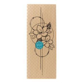 Tampon bois COMPOSITION DE FLEURS par Florilèges Design. Scrapbooking et loisirs créatifs. Livraison rapide et cadeau dans ch...