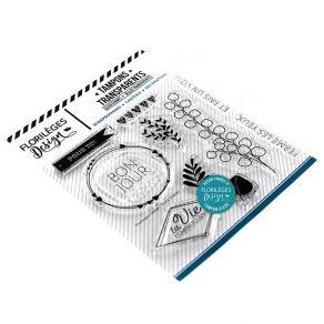 Tampons clear FERME LES YEUX par Florilèges Design. Scrapbooking et loisirs créatifs. Livraison rapide et cadeau dans chaque ...