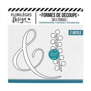 Commandez Outils de découpe FINE ESPERLUETTE Florilèges Design. Livraison rapide et cadeau dans chaque commande.