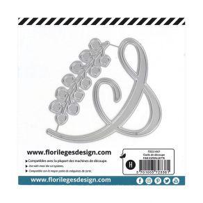 Outils de découpe FINE ESPERLUETTE par Florilèges Design. Scrapbooking et loisirs créatifs. Livraison rapide et cadeau dans c...