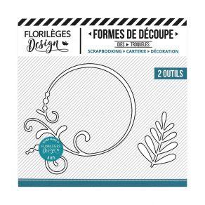 Commandez Outils de découpe CERCLE EMBELLI Florilèges Design. Livraison rapide et cadeau dans chaque commande.