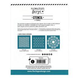Pochoir LIGNES DE POINTS par Florilèges Design. Scrapbooking et loisirs créatifs. Livraison rapide et cadeau dans chaque comm...