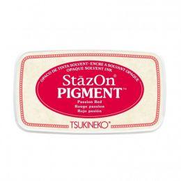 StazOn Pigment PASSION RED