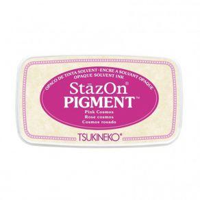 StazOn Pigment PINK COSMOS par Tsukineko. Scrapbooking et loisirs créatifs. Livraison rapide et cadeau dans chaque commande.