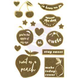 PROMO de -20% sur Stickers acryliques FRUIT PARADISE Prima Marketing