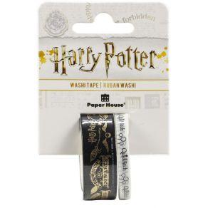 Washi tape Harry Potter QUIDDITCH par Paper House. Scrapbooking et loisirs créatifs. Livraison rapide et cadeau dans chaque c...
