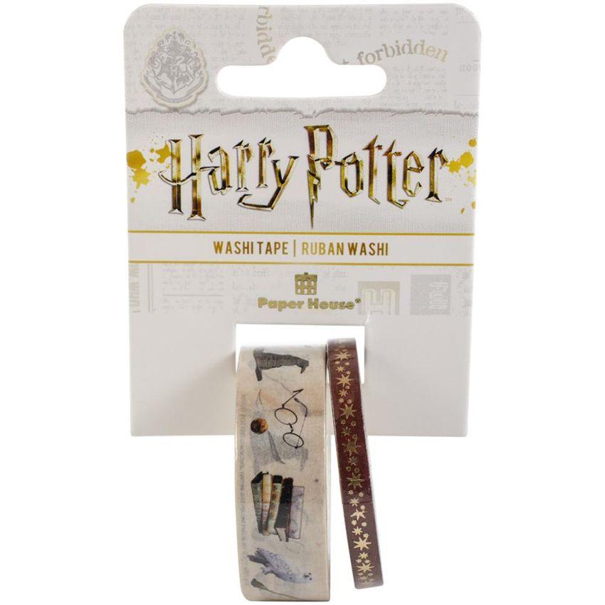 Washi tape Harry Potter ICONS par Paper House. Scrapbooking et loisirs créatifs. Livraison rapide et cadeau dans chaque comma...