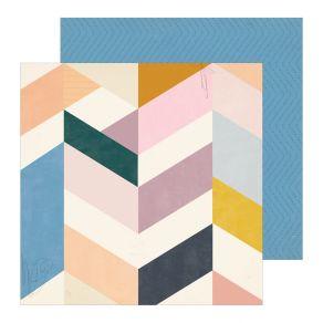 Papier imprimé Heritage LIBRARY par Crate Paper. Scrapbooking et loisirs créatifs. Livraison rapide et cadeau dans chaque com...