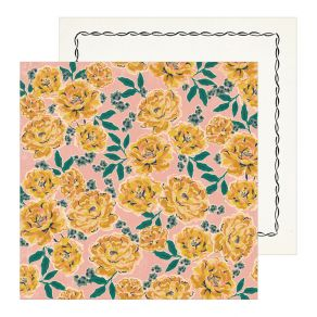 Parfait pour créer : Papier imprimé Heritage MARGARET par Crate Paper. Livraison rapide et cadeau dans chaque commande.