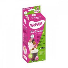 Crème de modelage WeCrème imitation chantilly BLANC par WePAM. Scrapbooking et loisirs créatifs. Livraison rapide et cadeau d...