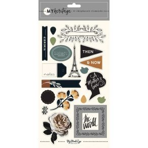PROMO de -99.99% sur Chipboard MY HERITAGE My Mind's Eye