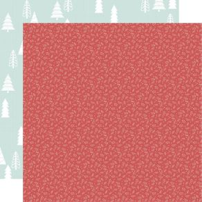 PROMO de -30% sur Papier imprimé Peppermint Kisses HOLLY JOLLY Kaisercraft