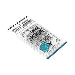 Tampons clear SE PERDRE par Florilèges Design. Scrapbooking et loisirs créatifs. Livraison rapide et cadeau dans chaque comma...