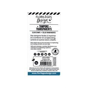 Tampons clear EXPLORER ICI ET LÀ par Florilèges Design. Scrapbooking et loisirs créatifs. Livraison rapide et cadeau dans cha...