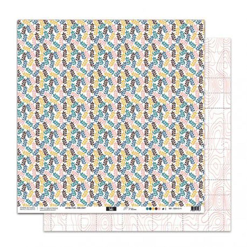 PROMO de -50% sur Papier imprimé So'Garden 01 Sokai