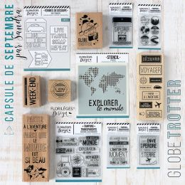 Pack complet capsule de Septembre 2019 par Florilèges Design. Scrapbooking et loisirs créatifs. Livraison rapide et cadeau da...