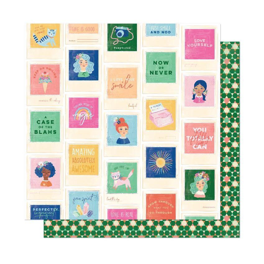 PROMO de -30% sur Papier imprimé She's Magic BEST FRIENDS American Crafts