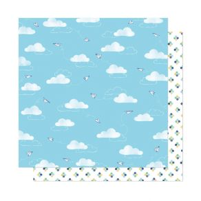 PROMO de -30% sur Papier imprimé She's Magic AIR MAIL American Crafts
