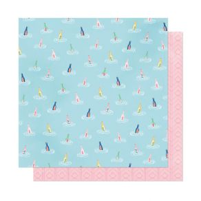 PROMO de -30% sur Papier imprimé She's Magic ACROSS THE SEA American Crafts