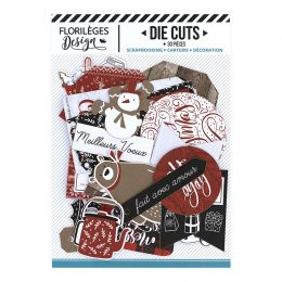 Die Cuts CHRISTMAS COCOONING par Florilèges Design. Scrapbooking et loisirs créatifs. Livraison rapide et cadeau dans chaque ...