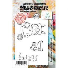 Tampons Clear A7 CAT LOVE 256 par AALL & Create. Scrapbooking et loisirs créatifs. Livraison rapide et cadeau dans chaque com...