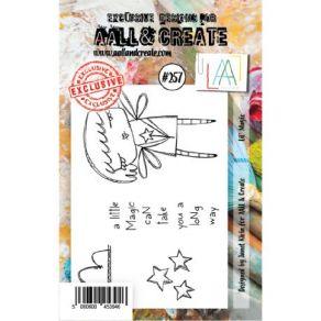 Tampons Clear A7 LIL' MAGIC 257 par AALL & Create. Scrapbooking et loisirs créatifs. Livraison rapide et cadeau dans chaque c...
