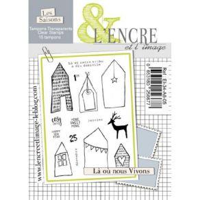 Tampons Clear LA OU NOUS VIVONS par L'Encre et l'Image. Scrapbooking et loisirs créatifs. Livraison rapide et cadeau dans cha...