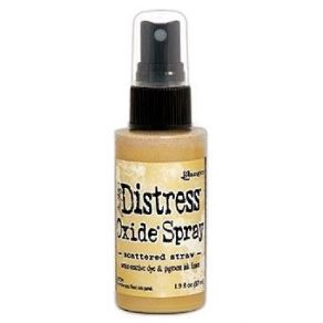 Encre Distress Oxide Spray SCATTERED STRAW
