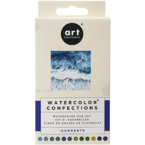 Palette d'aquarelle CURRENTS par Prima Marketing. Scrapbooking et loisirs créatifs. Livraison rapide et cadeau dans chaque co...