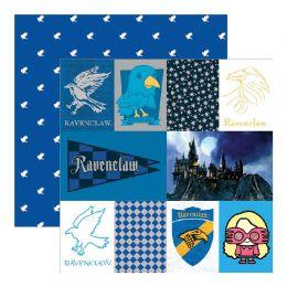 Papier Imprimé Harry Potter RAVENCLAW
